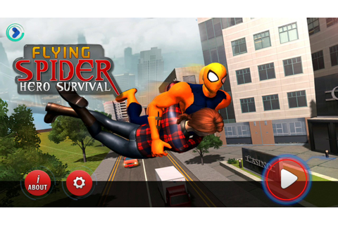 Flying Spider Hero Survival (The Game Storm Studios ...