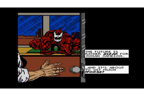 Talking Games: Story of Spider-Man and Venom: Maximum ...