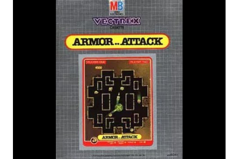 Armor Attack | Vectrex | 1982 | Super Panzer Game - YouTube