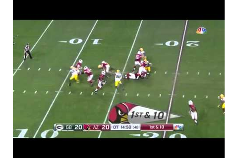 Larry Fitzgerald Game Winning Run - YouTube
