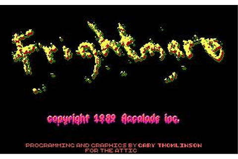 Frightmare Download (1989 Arcade action Game)