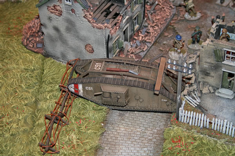 World War One Demonstration Game - Felix's Miniatures Gallery