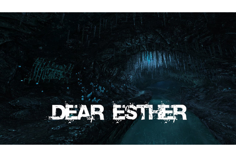 Dear Esther: A live music and gaming experience, featuring ...