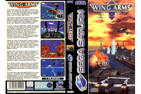 Sega Saturn W Wing Arms E Game Covers Box Scans Box Art CD ...