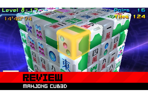 Review: Mahjong Cub3d