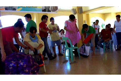 Pampanga Philippines Bondoc Family Reunion Wacky Games 1 ...