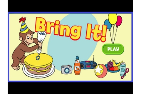 Curious George - Bring It - Curious George Games - YouTube