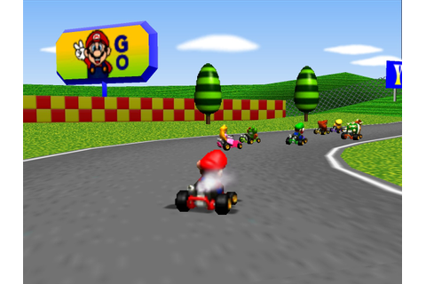 Mario Kart 64 drifts into Wii U's Virtual Console store ...