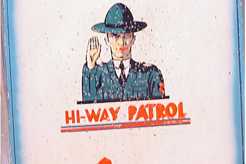 All-Tech Industries Hiway Patrol coin operated driving ...