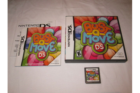 Bust-A-Move DS (Nintendo DS) Majesco Game Complete LN ...