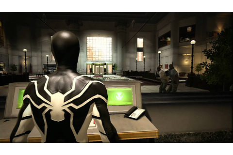 Amazing Spider-man Game: Black Cat bank robbery - YouTube