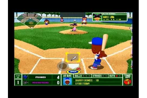 Backyard Baseball 2001 for the PC - YouTube