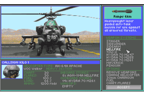 Gunship 2000 image - Video Game Art Realm - Mod DB