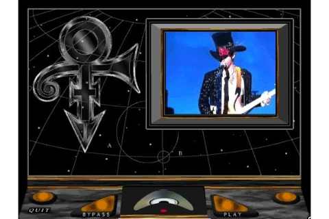 Check Out These Images from Prince's 1994 Video Game
