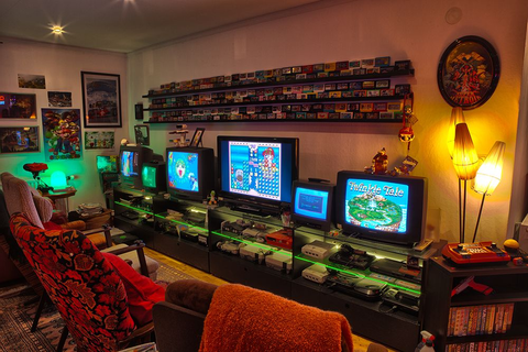 47+ Epic Video Game Room Decoration Ideas for 2017 ...