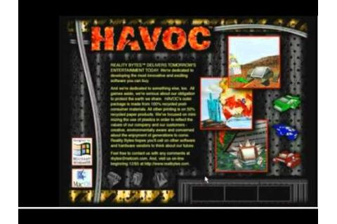 Havoc Title Screen (pc) - YouTube