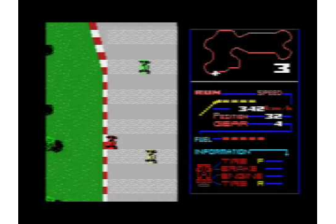 F1-Spirit The way to Formula 1 (1987 Konami) - YouTube