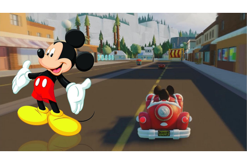 Mickey Mouse Race Game & Mickey Mouse vs Baymax - Mickey ...