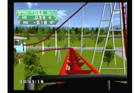 Coaster Works Dreamcast (GamePlay) - YouTube
