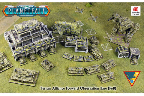 Tabletop Fix: Spartan Games - New Planetfall Preview