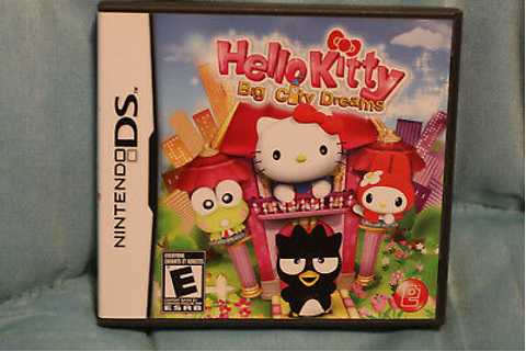 Hello Kitty: Big City Dreams Nintendo DS/3ds Kid Girls ...
