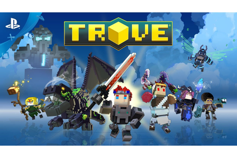 Trove - Beta Trailer | PS4 - YouTube
