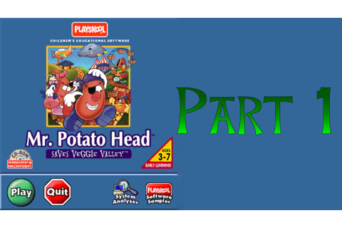 Mr potato head saves veggie valley game - exratoka's blog