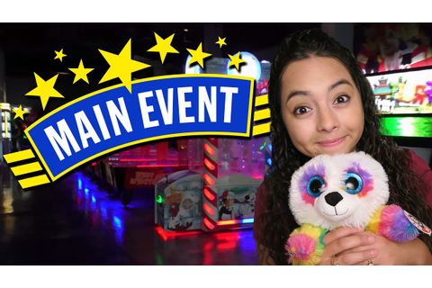 Having fun at Main Event Arcade!!! - YouTube