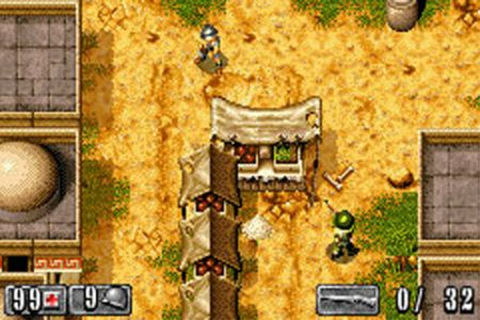 Medal of Honor: Infiltrator (Game Boy Advance, 2003 ...