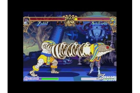 Vampire: Darkstalkers Collection PlayStation 2 - YouTube