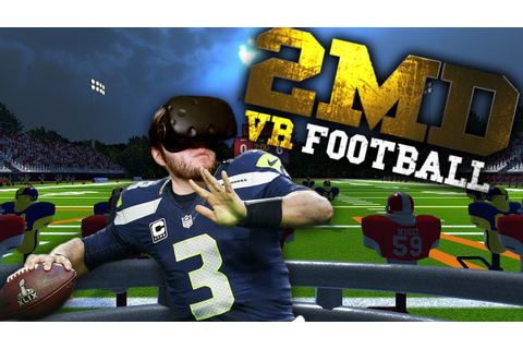 CLOSEST THING TO REAL FOOTBALL! | 2MD VR Football Gameplay ...