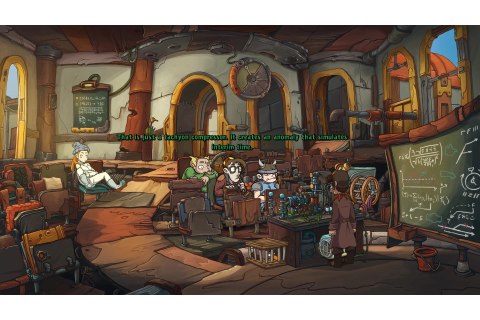 Deponia Doomsday PC Review | GameWatcher