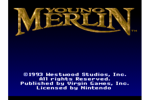 Young Merlin Download Game | GameFabrique