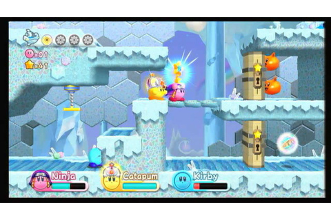 Kirby's Adventure Wii: Game through con Nicrax y mi ...