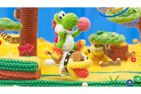 Poochy and Yoshi's Woolly World Review - IGN