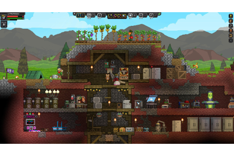 Starbound for PC review: A block-building, dungeon-looting ...
