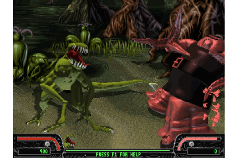 Download Xenophage: Alien BloodSport | DOS Games Archive