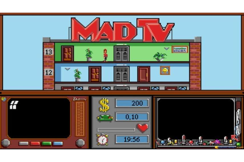 Mad TV gameplay (PC Game, 1991) - YouTube