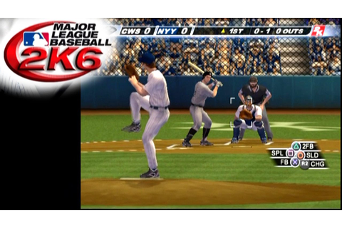 Major League Baseball 2K6 ... (PS2) - YouTube