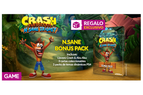 Crash Bandicoot N. Sane Trilogy - Bonus Pack exclusivo con ...