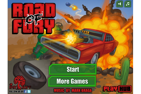 Road of Fury - Funny Car Games