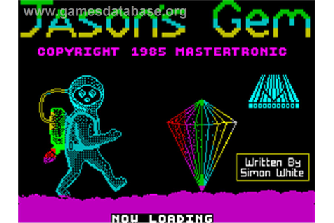 Jason's Gem - Sinclair ZX Spectrum - Games Database