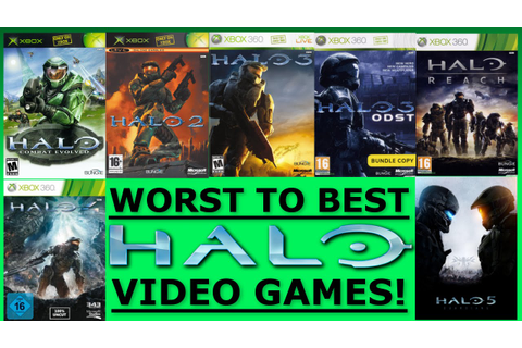 7 Halo Games Ranked Worst to Best - Ranked #2 - YouTube