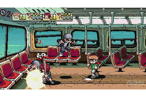 Scott Pilgrim Vs. The World Game Trailer (E3 2010) - YouTube