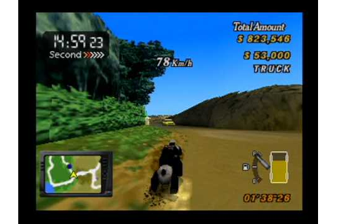 Playstation - Runabout 2 drunken driving - YouTube