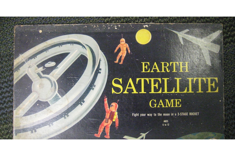 Dreams of Space - Books and Ephemera: Earth Satellite Game ...