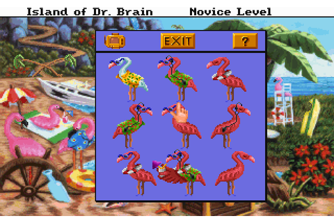 Скриншоты The Island of Dr. Brain на Old-Games.RU