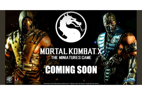 Mortal Kombat X: The Miniatures Game | Board Game ...