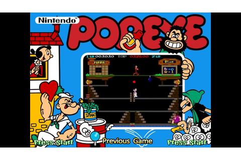 Popeye (Arcade) - Game Play - YouTube