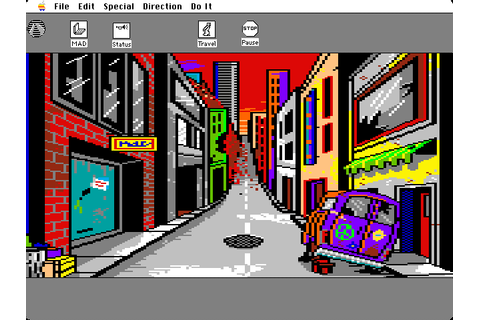 Manhunter 2: San Francisco (1989) by Evryware Mac OS ...